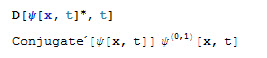Derivative in Mathematica